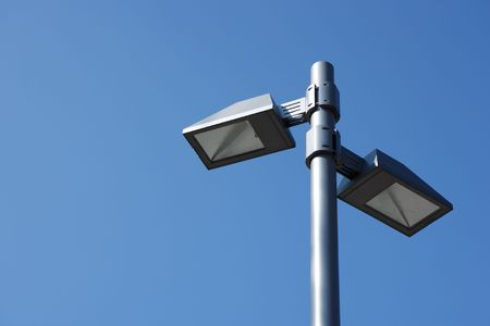 modern street lamp Stock Photo - 3030120