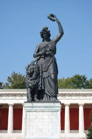 statue of bavaria Stock Photo - 3053393