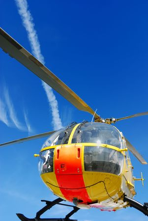 helicopter rescue: rescue helicopter vertical