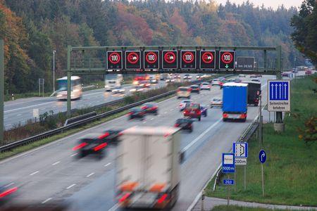 speed limit evening