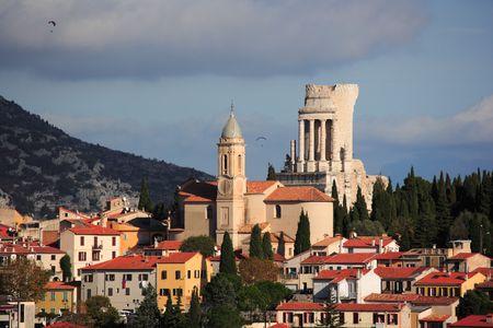 la: La turbie, Cote d'Azur
