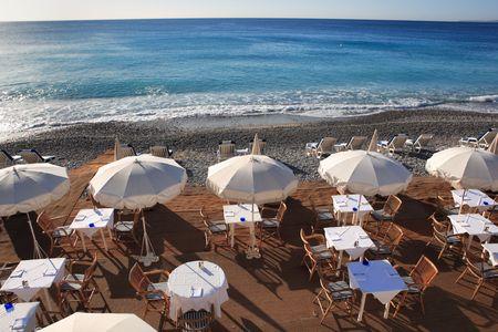 seaside restaurant Stock Photo - 3063449