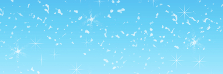 beautiful falling Christmas snow on a blue background. Abstraction. Design. Blue background. Sequins, snowflakes, stars