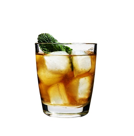 cocktail, rum, mint, ice, alcohol, cola, non-alcoholic, alcoholic.