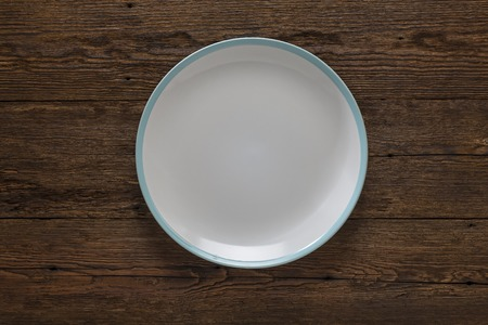 kitchen, cooking, empty plate, wooden, rustic, porcelain,