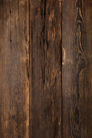 Old wood texture empty dark background, top view Archivio Fotografico