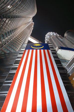The Twin Tower of Kuala Lumpur