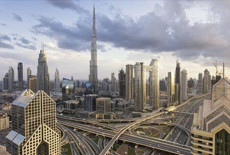 Dubai Cityscape, UAE. Stock fotó
