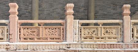 balustrades: Shenyang East Tomb Editorial