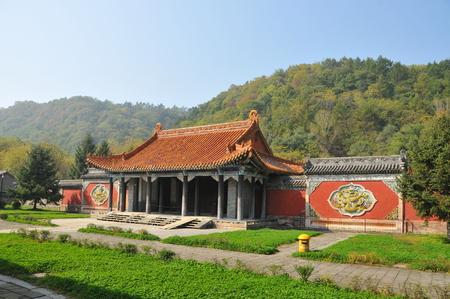 county side: Kiyonaga mausoleum gate Editorial