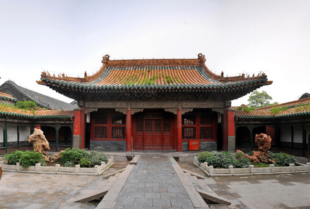 the world cultural heritage: The Imperial Palace in Shenyang