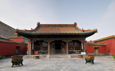 heritage protection: The Imperial Palace in Shenyang Summer Palace and the temple