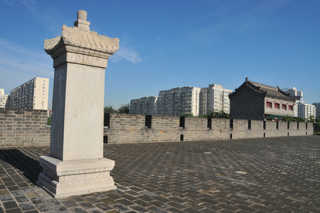 Beijing West Gate towers