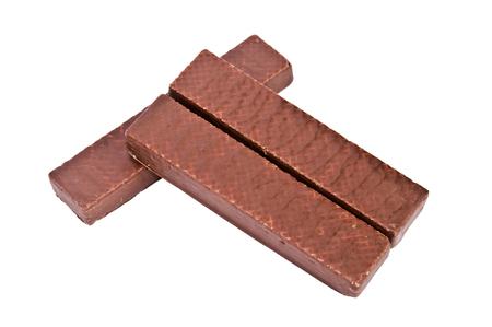 horizontal format horizontal: Chocolate wafer cookies