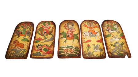 quintet: Naxi Quintet God card draw