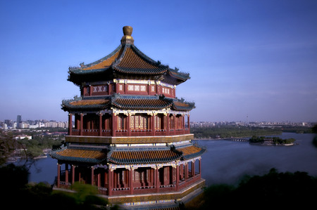 distric: The Summer Palace of Beijing Editorial