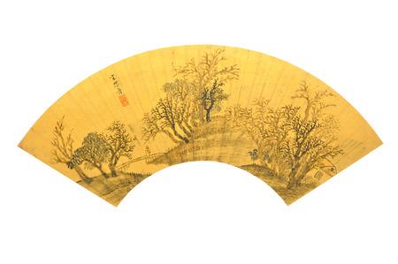 behalf: Song Maojin hut Haruki Ming Hu on behalf of figure painting of cultural relics