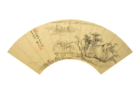ancient relics: Qing Dynasty Kangxi cultural relics painting in ancient China