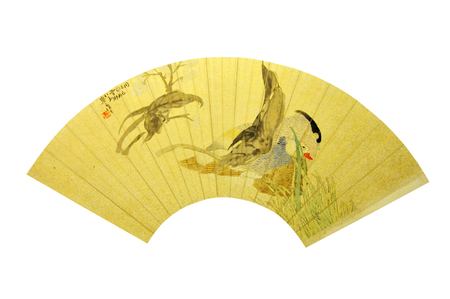 relic: Qing Dynasty painting fan