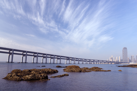 Dalian city scenery.