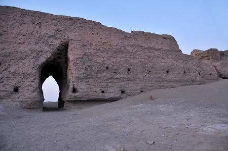 Inner Mongolia black city landscape scenery view