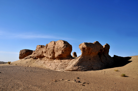 Inner Mongolia Datong City site landscape scenery view Stock Photo