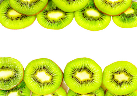 freshest: KIwi texture with white space for text