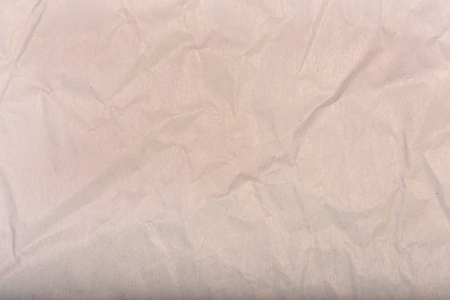 wrinkled paper: Brown wrinkled paper background Stock Photo