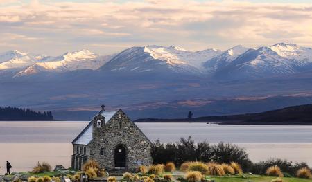 Church of the Good Shepherd built since 1935, Lake Tekapo, New Zealand