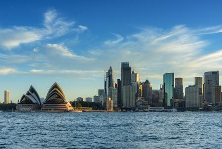 SYDNEY AUSTRALIA - March 12,2017: View of Sydney Opera House. Sydney, Australia, Over 10 millions tourists visit Sydney every year