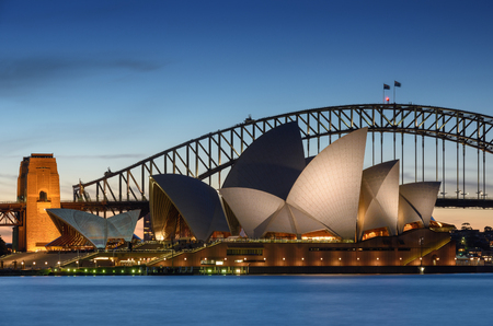 View of Sydney Opera House. Sydney, Australia.
