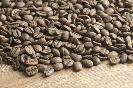 Roasrted Tukish coffee beans.