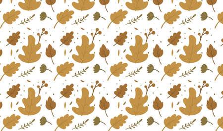 happy auntumn season day background flat illustration for web ecommerce