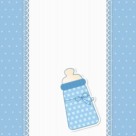 teat: Baby Background in Blue
