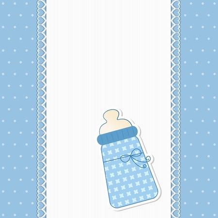Baby-Hintergrund in Blau