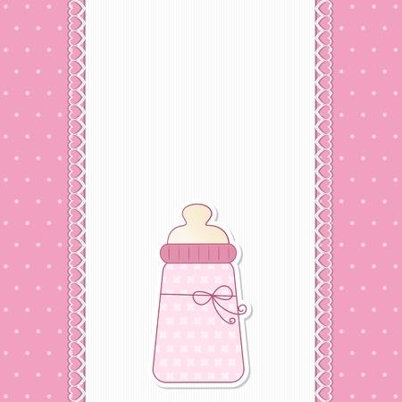 menina: Baby Pink fundo - Um fundo de concurso para o an