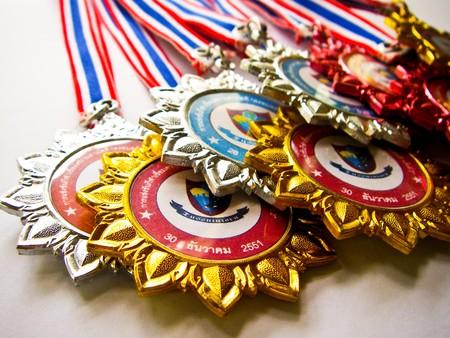 SzkoÅ'a medalu  Zdjęcie Seryjne