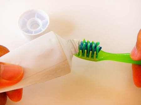 Toothpaste and Toothbrush Stock Photo - 7689852