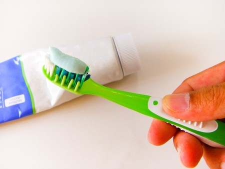 Toothpaste and Toothbrush Stock Photo - 7689853