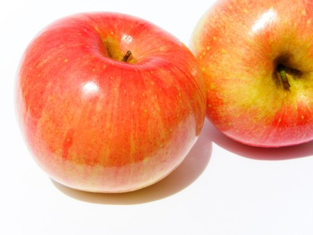 Apple, red, yellow Stock Photo - 8069039