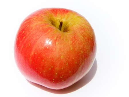 Apple, red, yellow Stock Photo - 8069038