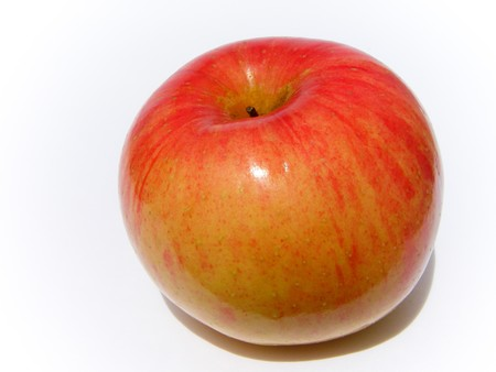 Apple, red, yellow Stock Photo - 8069036