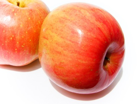 Apple, red, yellow Stock Photo - 8069040