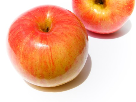 Apple, red, yellow Stock Photo - 8069041