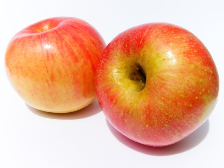Apple, red, yellow Stock Photo - 8069043