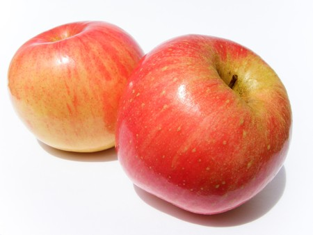 Apple, red, yellow Stock Photo - 8069042