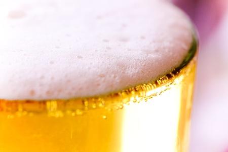 Beer foam photo