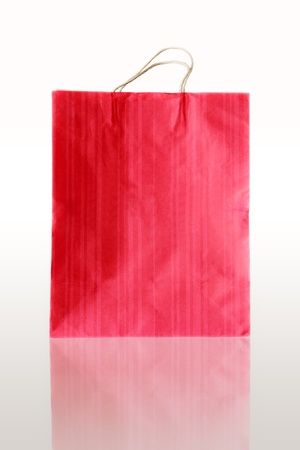 Paper bags for shopping at the mall photo