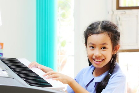 Girls have enjoyed playing music photo