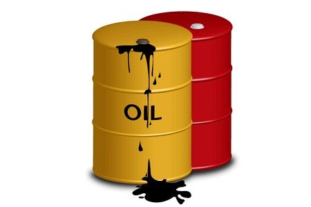 L'essence huile ouvert
